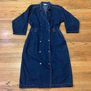 Vintage   Carina Denim Dress size:9/10
